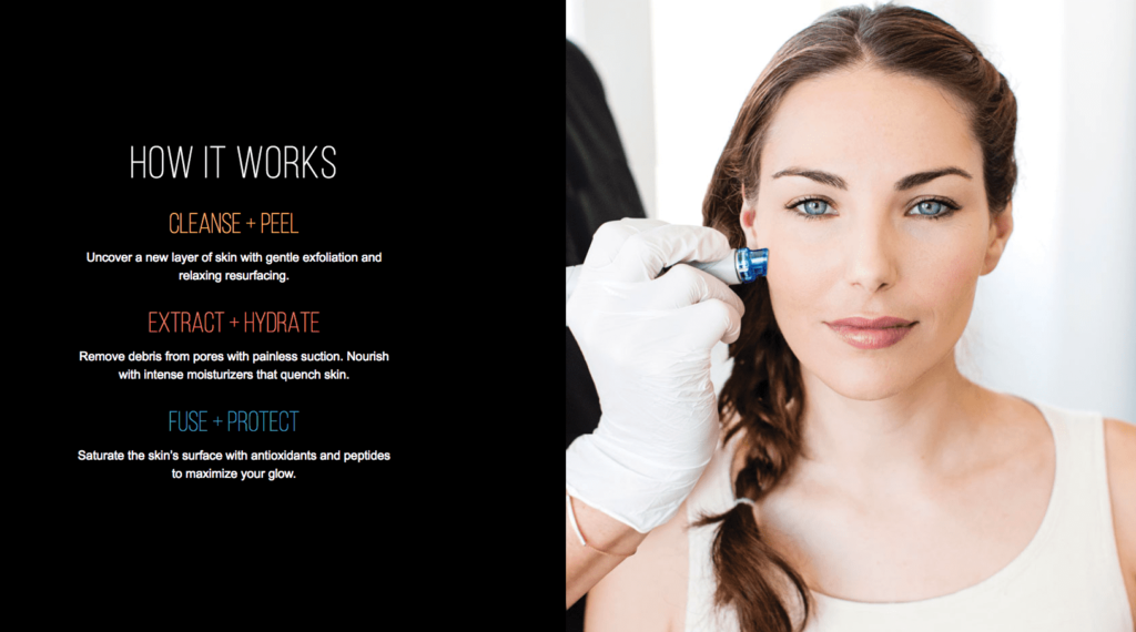 How Hydrafacial Works